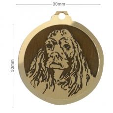 medaille pour chien cocker Conseil  médaille chien valais