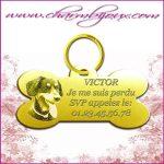 medaille chien personnalisée photo Bien choisir  medaille en laiton pour chien
