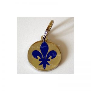 medaille chien fleur de lys Conseil  medaille pour chien a geneve