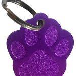 medaille pour chien en forme de patte Bien choisir  medaille strass pour chien