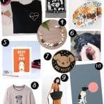 2019: Cadeaux Fête des Mères pour Amoureux des Chiens  – Médaille chien