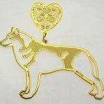 medaille chien husky Bien choisir  medaille pour chien spitz
