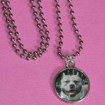 L'importance de dire merci  –  Médaille chien gravée
