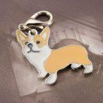 Médaille pour chien collier pour chat avec adresse