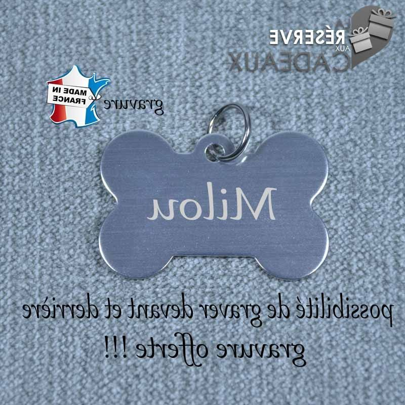 Médaille pour chien gravure de médaille
