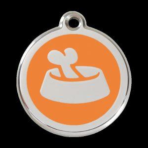 Médaille pour chien gamelle chien personnalisée