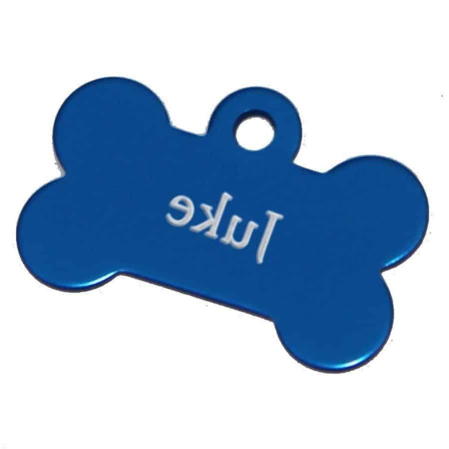Médaille chien medaille gravée photo