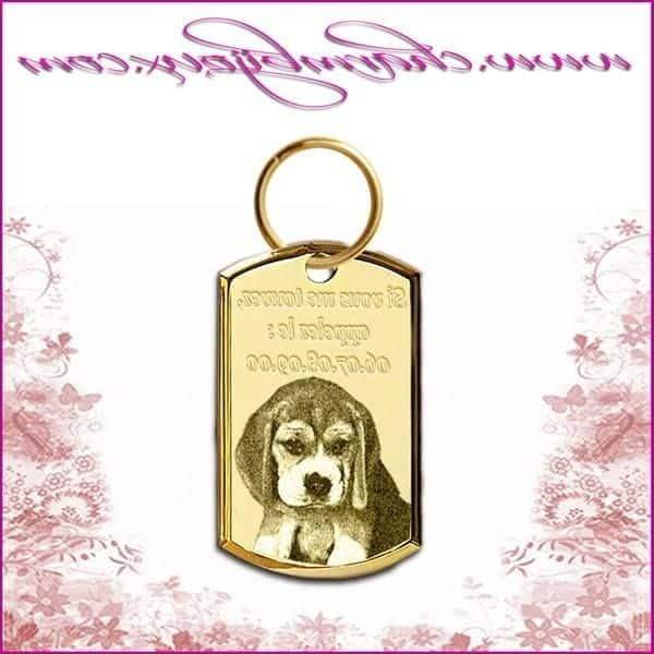 Médaille chien medaille chien harley davidson